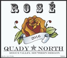 Quady North Winery LLC - 2016 Rose, 750ml, 12.4%