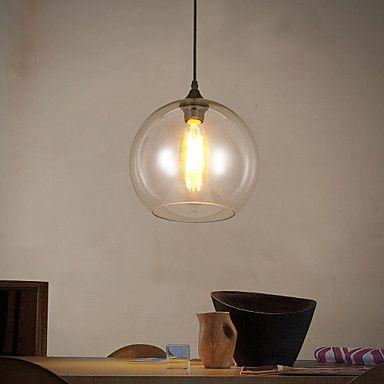 Moderne / Nutidig / Traditionel / Klassisk / Rustikk/ Hytte / Vintage / Kontor / Bedrift / Lanterne LED Metall Anheng LysStue / Soverom / – NOK kr. 254
