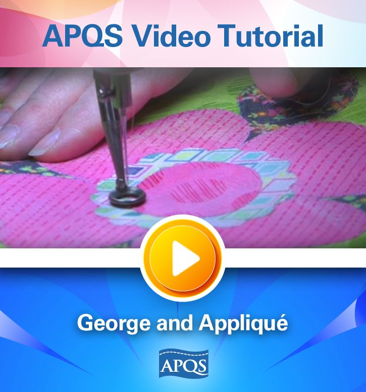 In this APQS Video Tutorial you'll discover how different quilting can impact your applique as APQS Education Director Dawn Cavanaugh showcases five different quilting styles on applique blocks using the APQS George sit-down quilting machine.