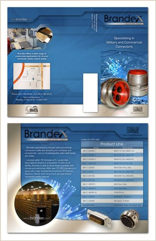 30 Contoh Desain Brosur Lipat Tiga | 15_Brandex-Trifold-Brochure-500x770