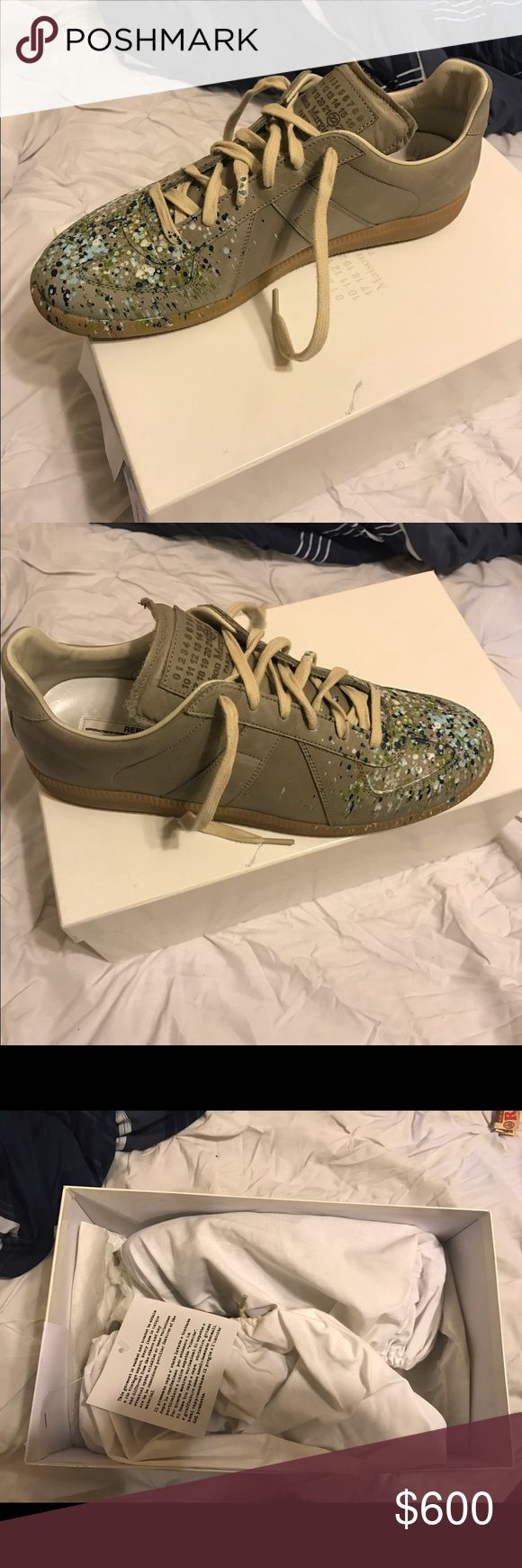 Men's Maison Margiela sneakers Men's maison Margiela sneakers never worn size 11 or 44 Maison Margiela Shoes Sneakers