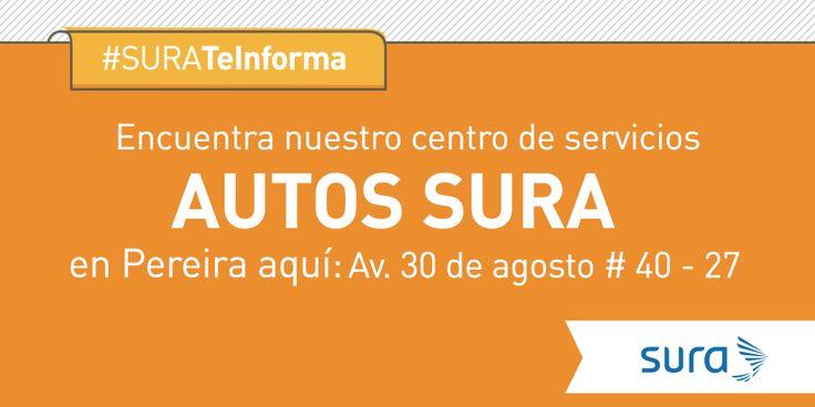 ¿Estás buscando un centro de servicios en Pereira? #SURATeInforma: