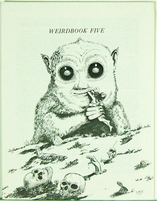 Weirdbook Five 1972 Original, SF-Horror-Fantasy-Fantastic Stories Fanzine…