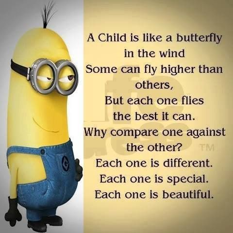 Amen. Never compare and Never have or show favoritism! It sad when adults are unaware of how they treat children and grandchildren. Especially when the child can feel the difference in the love and affection given.