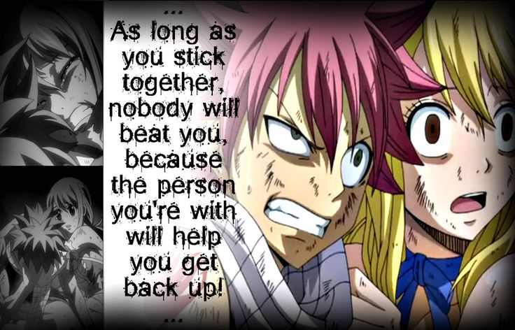 Natsu and Lucy, Stick Together by Xela-scarlet