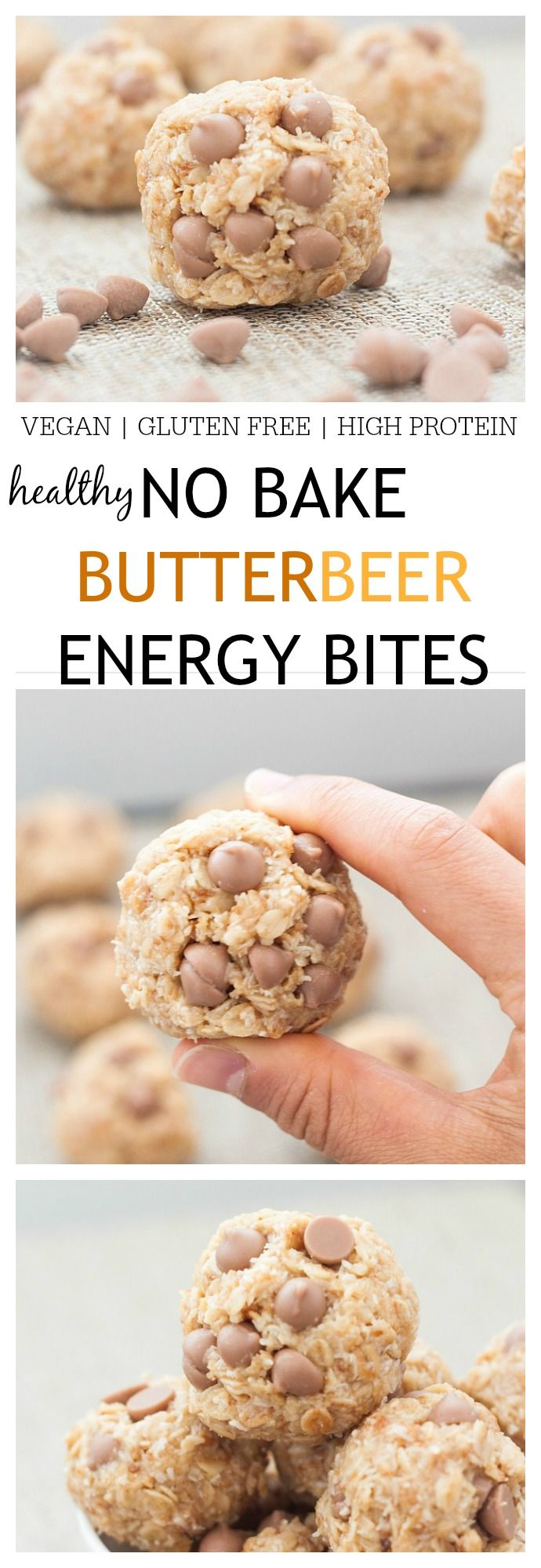 Inspired by Harry Potter- A delicious, no bake snack sized treat which is perfect pre workout or a snack anytime throughout the day! {vegan, gluten free, low sugar!} - thebigmansworld.com
