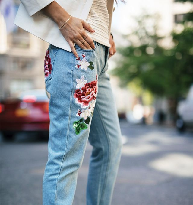 nice This denim trend will be huge , This denim trend will be huge this Summer and Fall. I am so ready for a new jeans style. But are embroidered jeans for everyone?   Well, d... ,  #denimtrends #designerjeans #Embroideryjeans