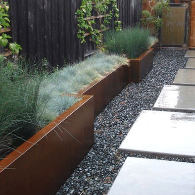 Modern Home Planter Boxes Design, Pictures, Remodel, Decor And Ideas