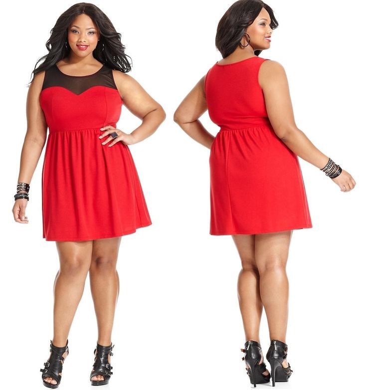 Anita MarshallinSoprano Plus Size Dress, Sleeveless Sweetheart-Neck A-Line
