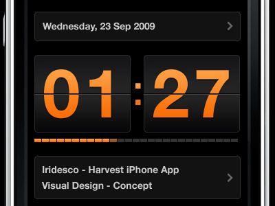 Harvest App Running timer by Anthony Armendariz