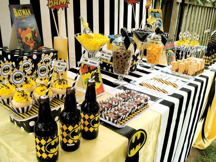 Oh man... Maybe I want a batman party.. Hahaha
