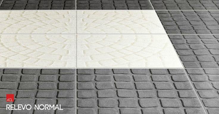 Preto e branco é um clássico que nunca sai de moda! Inspire-se com a linha Relevo Normal! -- Black and white is a classic, never goes out of style! Inspired with Relevo Normal line! #acl #aclouro #acimenteiradolouro #pavimentodebetao #betao #concreteflooring #flooring #architecture #arquitectura #architektur