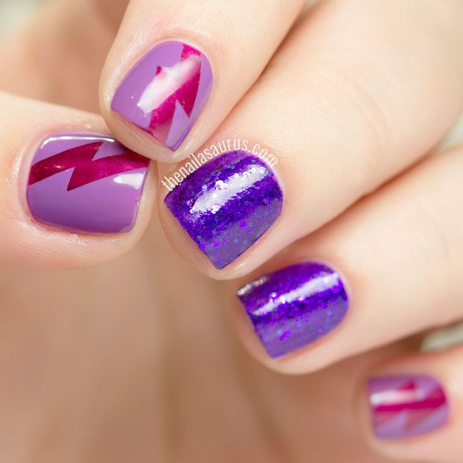 Uk Nail Art Blog Nail Art With Bite: 25+ Best Ideas About Violet Nails On Pinterest