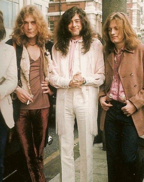 Robert Plant, Jimmy Page & John Paul Jones   Led Zeppelin