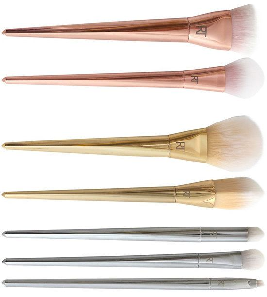 21 Obscenely Pretty Beauty Products That Should Be In A Museum - featuring the Real Techniques Bold Metals Collection!