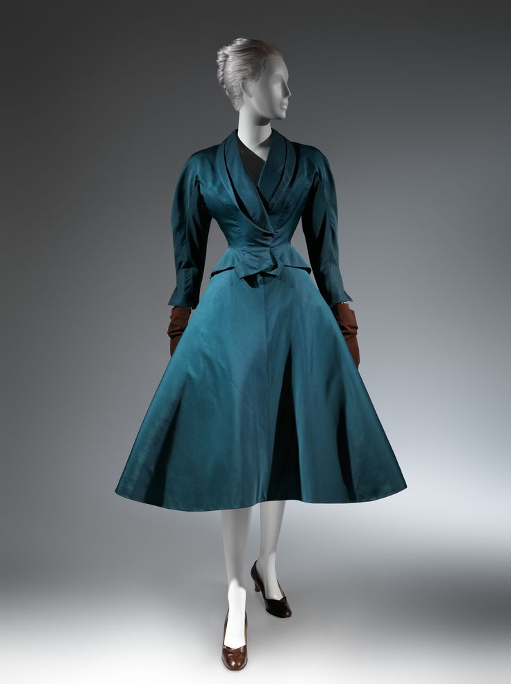Charles James (American, born Great Britain, 1906–1978). Dinner suit, 1951. Silk. The Metropolitan Museum of Art, New York. Brooklyn Museum Costume Collection at The Metropolitan Museum of Art, Gift of the Brooklyn Museum, 2009; Gift of Mrs. R. A. Bernatschke, 1955 (2009.300.214a, b) #CharlesJames