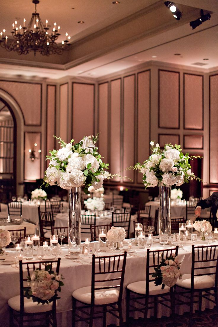Traditional Ballroom Wedding at The Adolphus  Read more - http://www.stylemepretty.com/texas-weddings/dallas/2014/02/19/traditional-ballroom-wedding-at-the-adolphus/