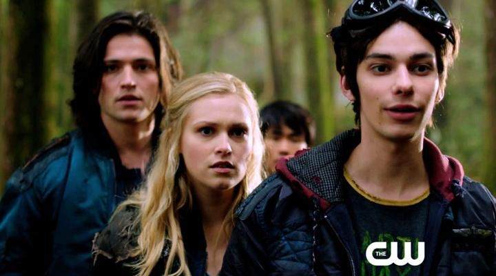 #TheCW's #The100 Video - Series Preview   Watch Online Free (Click on pic for link to video) #ThomasMcDonell as #Finn, #ElizaTaylor as #Clarke and #DevonBostick as #Jasper