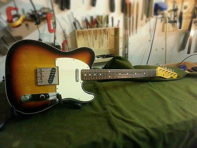 Fender Telecaster: manutenzione e set up