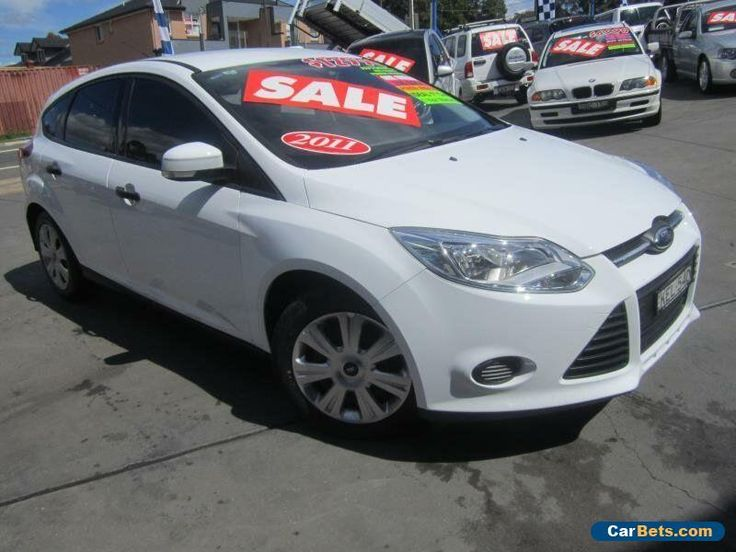 2011 Ford Focus LW Ambiente White Automatic 6sp A Hatchback #ford #focus #forsale #australia