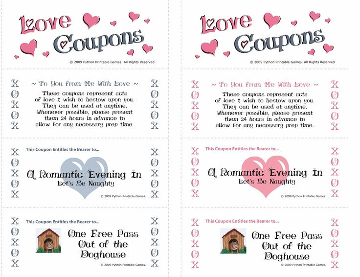 coupons lovers for sex printable