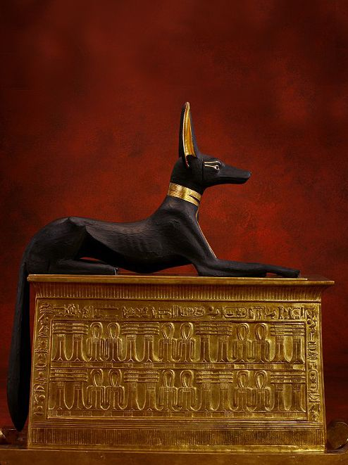Discovered in Tuts tomb 1922 by Howard Carter.....Anubis.....funery procession…
