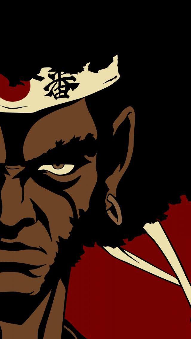 #Anime #Samourai Afro Samurai