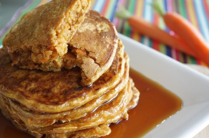 Wortel pannenkoeken met kaneel en rozijnen | Francesca Kookt!