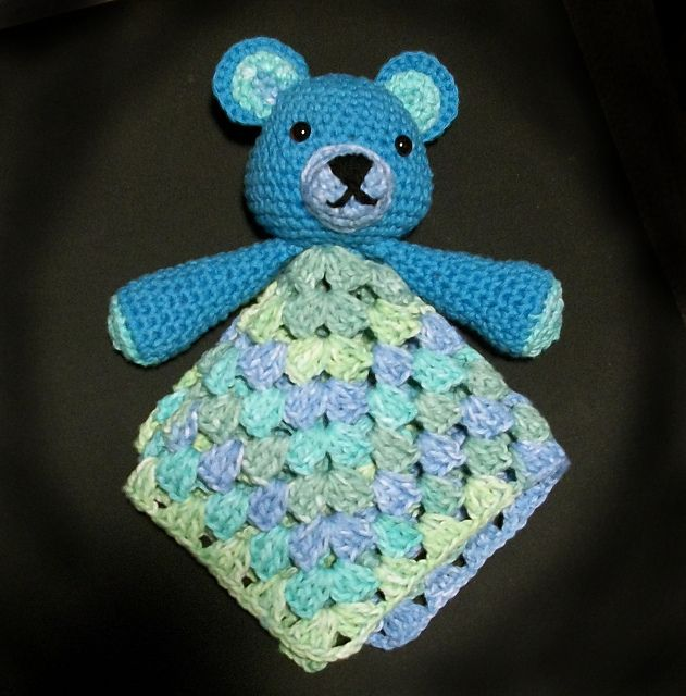 Beary Bluebeary Lovey Pattern By Ladyxxxtattoo Brittany Orr