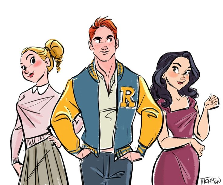My favorite show on TV. Riverdale on the CW. So good. Gossip Girl meets Twin Peaks.