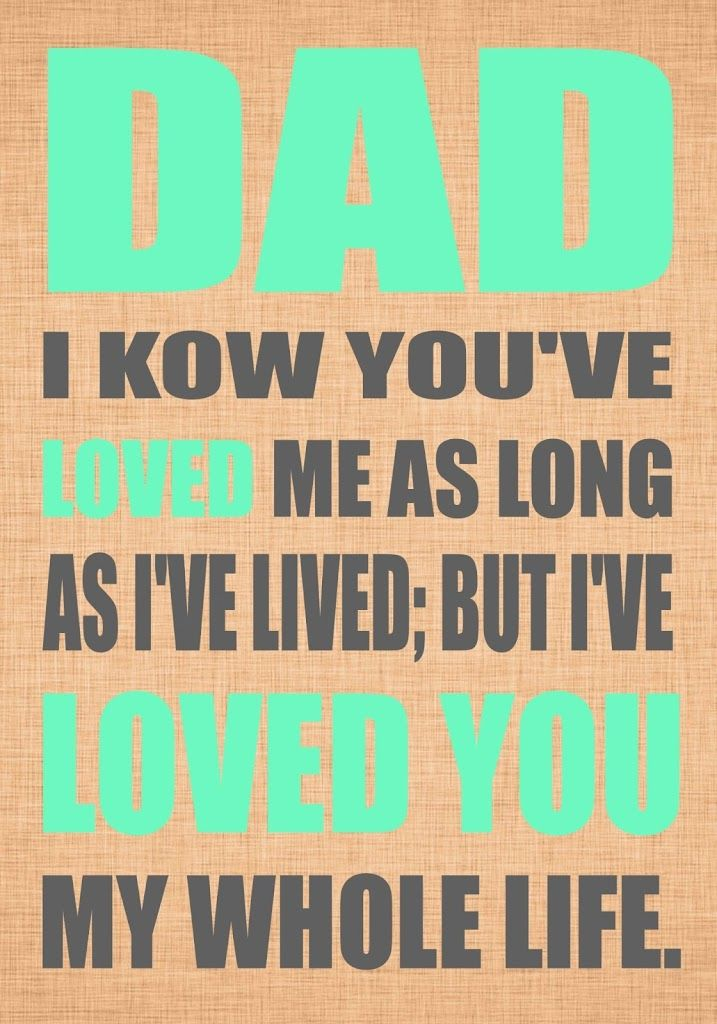 18 best mother 39 s day father 39 s day images on pinterest for Fathers day quotes from daughter to dad