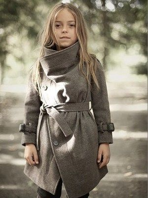 ALLSAINTS Spitalfields Kids Children Girl Nahara Trench Coat Sz 4 Sold Out | eBay
