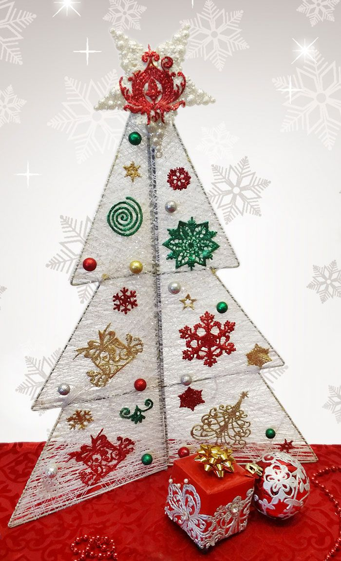 Christmas tree embellished with edible decorations