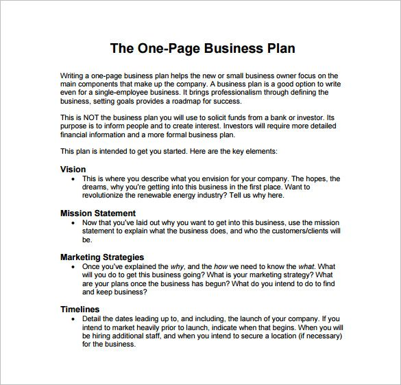 The Best Business Plan Sample Pdf Ideas On Pinterest Sample - Business plan template pdf
