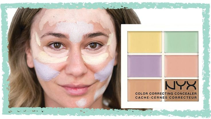 How to Use the NYX Color Correcting Palette