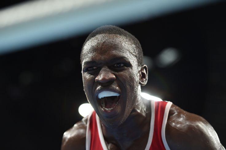 Souleymane Cissokho (boxe   -69 kg) #Bronze Photo yuri cortez afp