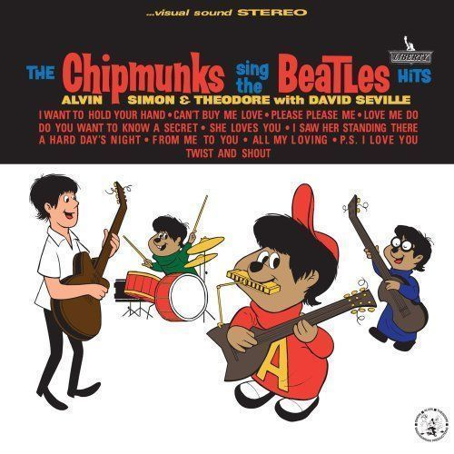 Chipmunks Sing the Beatles Hits - Chipmunks New & Sealed Compact Disc Free Shipp