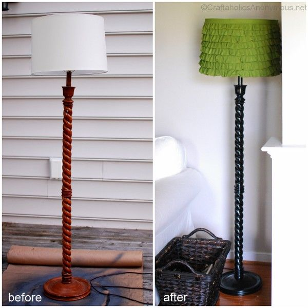 Craftaholics Anonymous® | DIY lampshade - via http://bit.ly/epinner