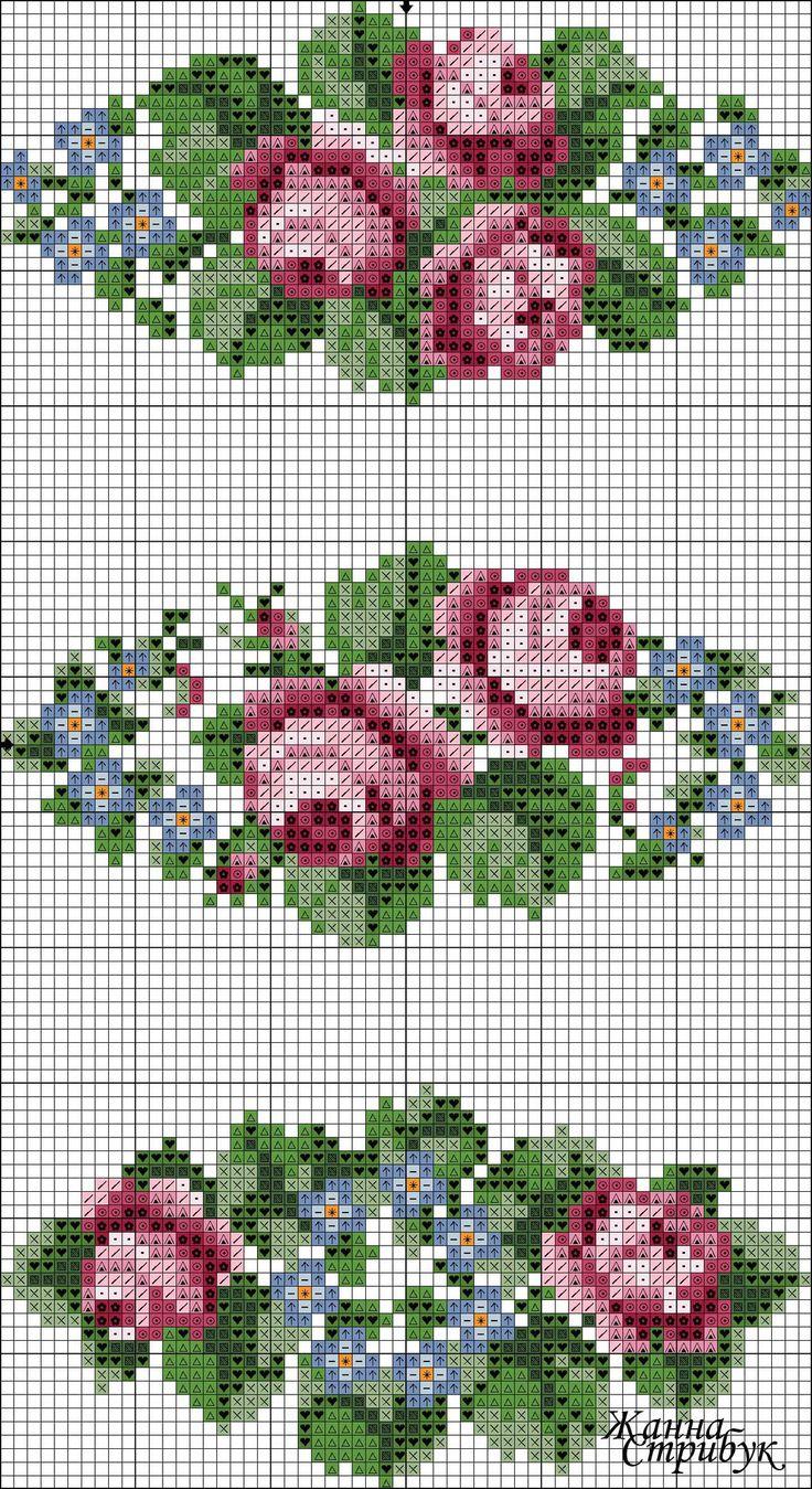 Схемы вышивки Жанны Стрибук   ВКонтакте