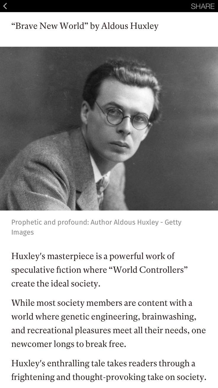essay on brave new world society Get free study materials