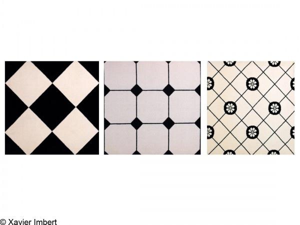 22 best ascot tile images on pinterest ascot limestone for Carrelage damier