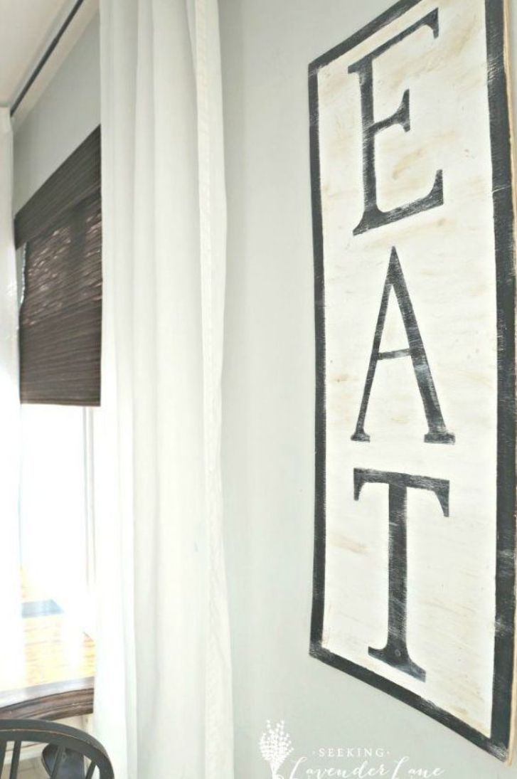 Diy Signs To Make For Your Home Diy Eat Sign Rustic Wall Art Ideas And Homemade Sign For Bedroom Kitc Home Decor Signs Home Decor Pictures Rustic Wall Art