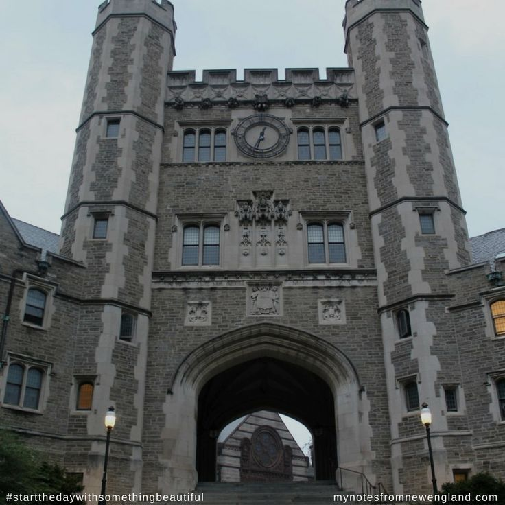 Treading the hallowed ground that is that of Princeton University #startthedaywithsomethingbeautiful
