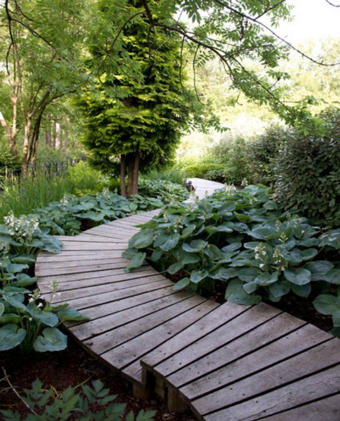 25 Most Beautiful DIY Garden Path Ideas - A Piece Of Rainbow