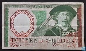 1000 gulden - Rembrandt (1956)