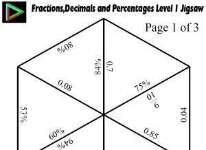 78 best fractions decimals percentages images on Pinterest | Math ...