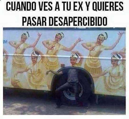Disimula .. Disimula ... #memes #chistes #chistesmalos #imagenesgraciosas #humor www.megamemeces.c... ➫ http://www.diverint.com/memes-espanol-2016-viendo-foto-perfil