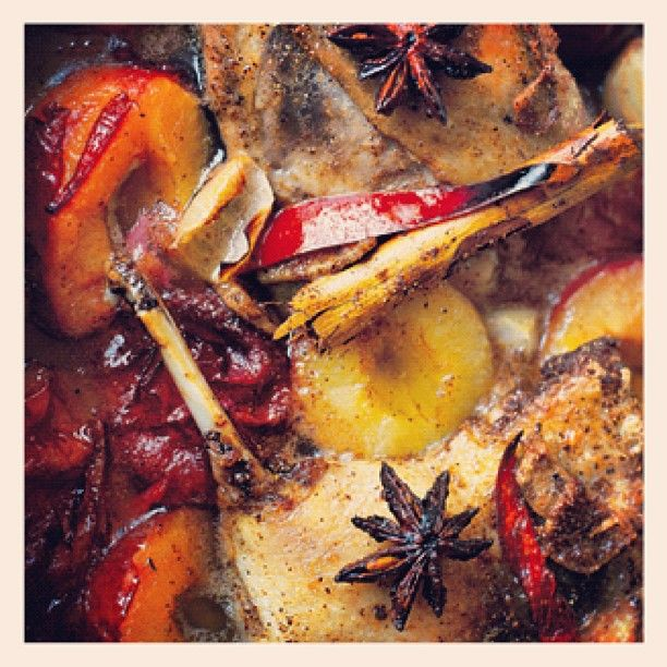 Photo from Jamie Oliver: Sweet Crispy Asian Duck Legs Cooked With Plums #jamie