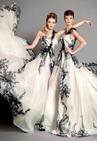 Couture - maxi šaty
