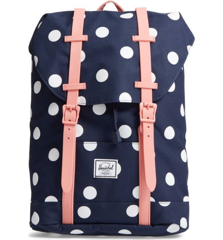 Backpacks 57917: New Matching Herschel Supply Backpack: Strawberry Polka Dot -> BUY IT NOW ONLY: $67.75 on eBay!